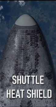 SHUTTLE HEAT SHIELD