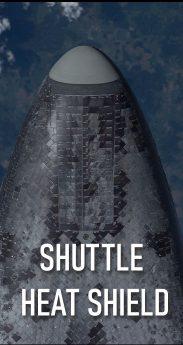 SHUTTLE HEAT SHIELD